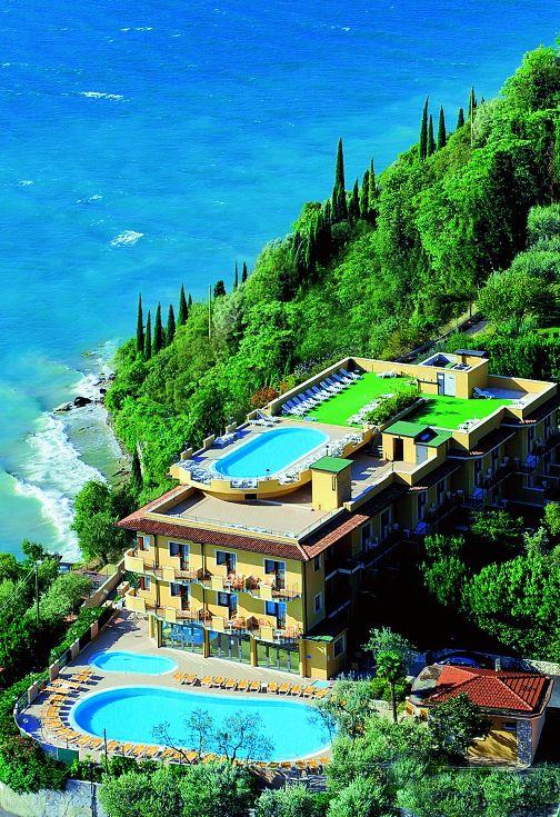 Hotel Piccolo Paradiso, Gardské jezero, severní Itálie