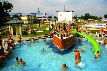 Maďarsko - Sarvár, wellness, lázně